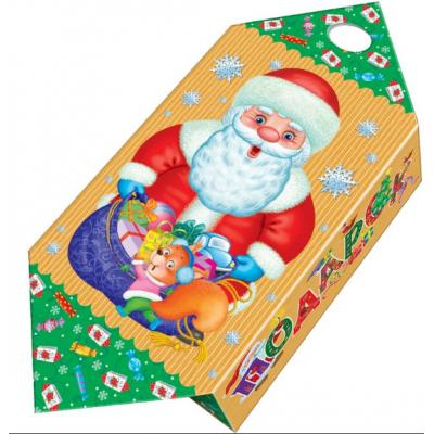 Сладкий новогодний подарок Большая конфета Морозик, 1000 гр