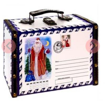 Саквояж новогодняя Посылка 700 гр   - сладкий подарок к Новому году
