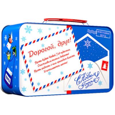 Сладкий новогодний подарок Почта 700 гр