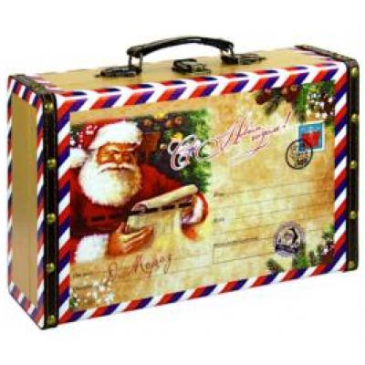 Саквояж новогодняя Бандероль 700 гр   - сладкий подарок к Новому году
