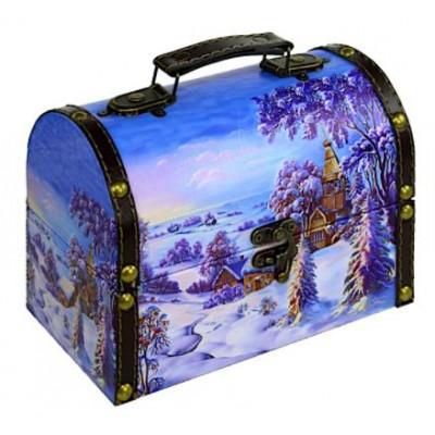 Cундук Зима 700 гр   - сладкий подарок к Новому году