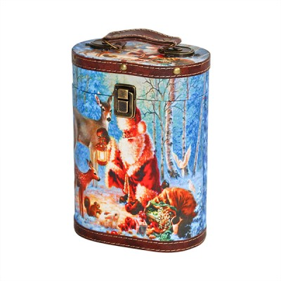 Сладкий новогодний подарок Туес, 1100 гр