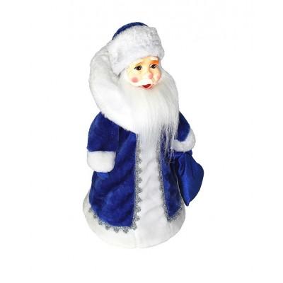 Упаковка из текстиля для сладких новогодних подарков Дед Мороза мягкая игрушка 1100-1200 гр