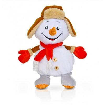 Сладкий новогодний подарок Снеговик Морковкин, 1300 гр