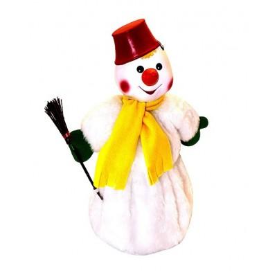 Сладкий новогодний подарок Снеговик, 900 гр
