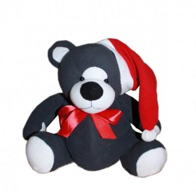 Сладкий новогодний подарок Мишка Санта, 1000гр