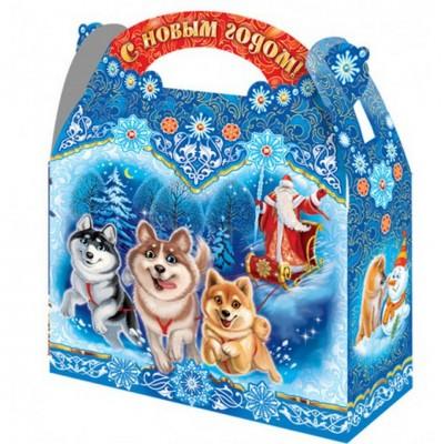 Сладкий новогодний подарок Хаски, 1300 гр