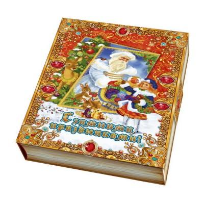 Сладкий новогодний подарок Книга Загадок, 500 гр