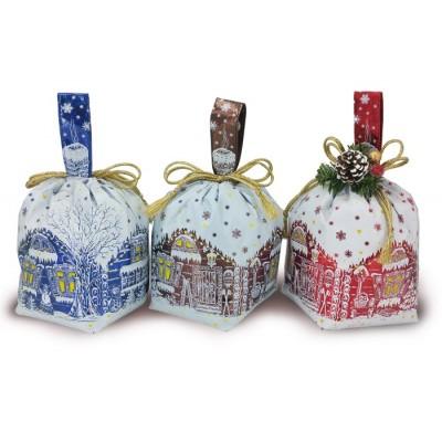 Сладкий новогодний подарок Мешочек Избушка, 1000 гр