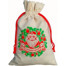 Мешочек Дед Мороз, 1000 гр