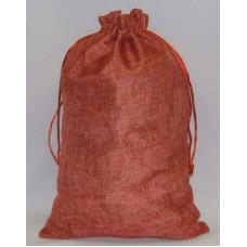 Упаковка Мешочек из мешковины для новогодних подарков, размер 20*30см