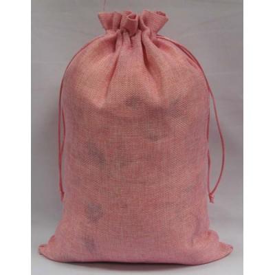 Упаковка текстильная для сладких новогодних подарков Мешочек из мешковины