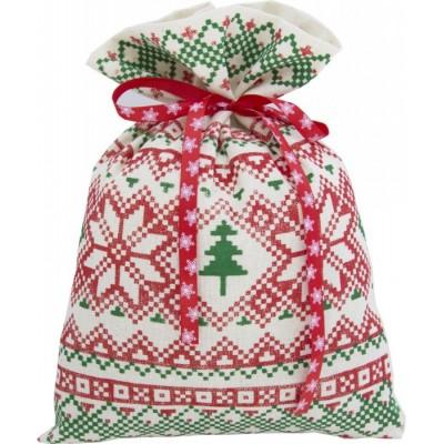 Сладкий новогодний подарок Мешочек (двунитка) Скандинавские мотивы   1000 гр
